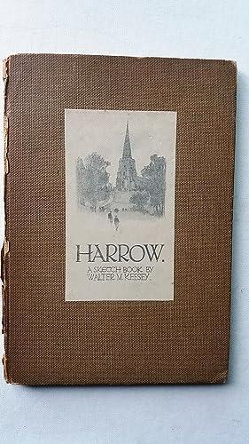 Harrow A Sketch Book: Walter M. Keesey