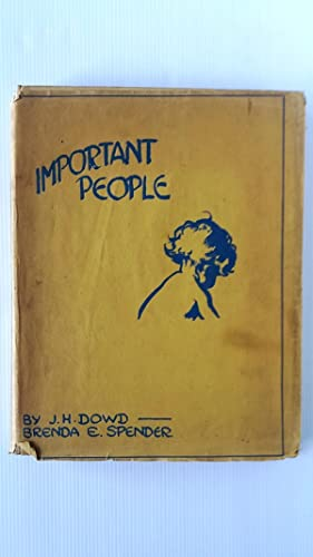 Important People: J.H. Dowd
