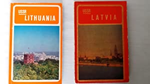 The Lithuanian Soviet Socialist Republic and Latvian Soviet Socialist Republic - 2 books