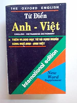 "Tu Dien Anh - Viet ""The Oxford English"" English - Vietnamese Dictionary - Tren 95,000 Muc..."