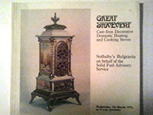 Great Stovevent - Cast-Iron Decorative Domestic Heating: Sotheby's