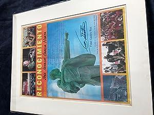 Reconocimiento: Color Printed Citation/Recognition: CASTRO, Fidel