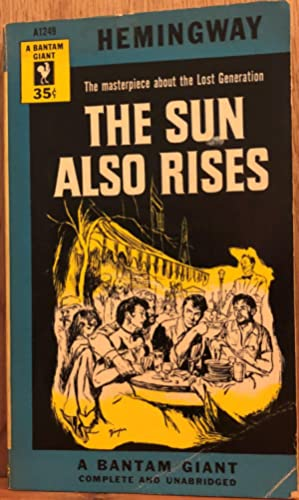 a review of the story of the sun also rises For its time, the sun also rises was a reasonably frank and faithful adaptation of the 1926 ernest hemingway novel its main concession to hollywood formula was the casting of star players who.