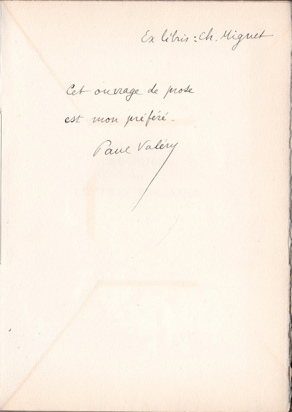 Au_sujet_des_Lettres_persanes_VALÉRY_Paul_Assez_bon_Couverture_souple