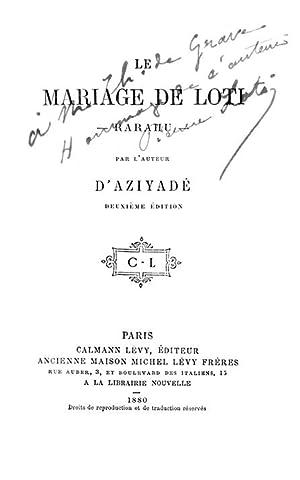 Le mariage de Loti (Rarahu)  LOTI Pierre (Julien 346bbcb0c83