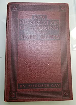 New Presentation of Cooking With Timed Recipes: Auguste Gay, Anne