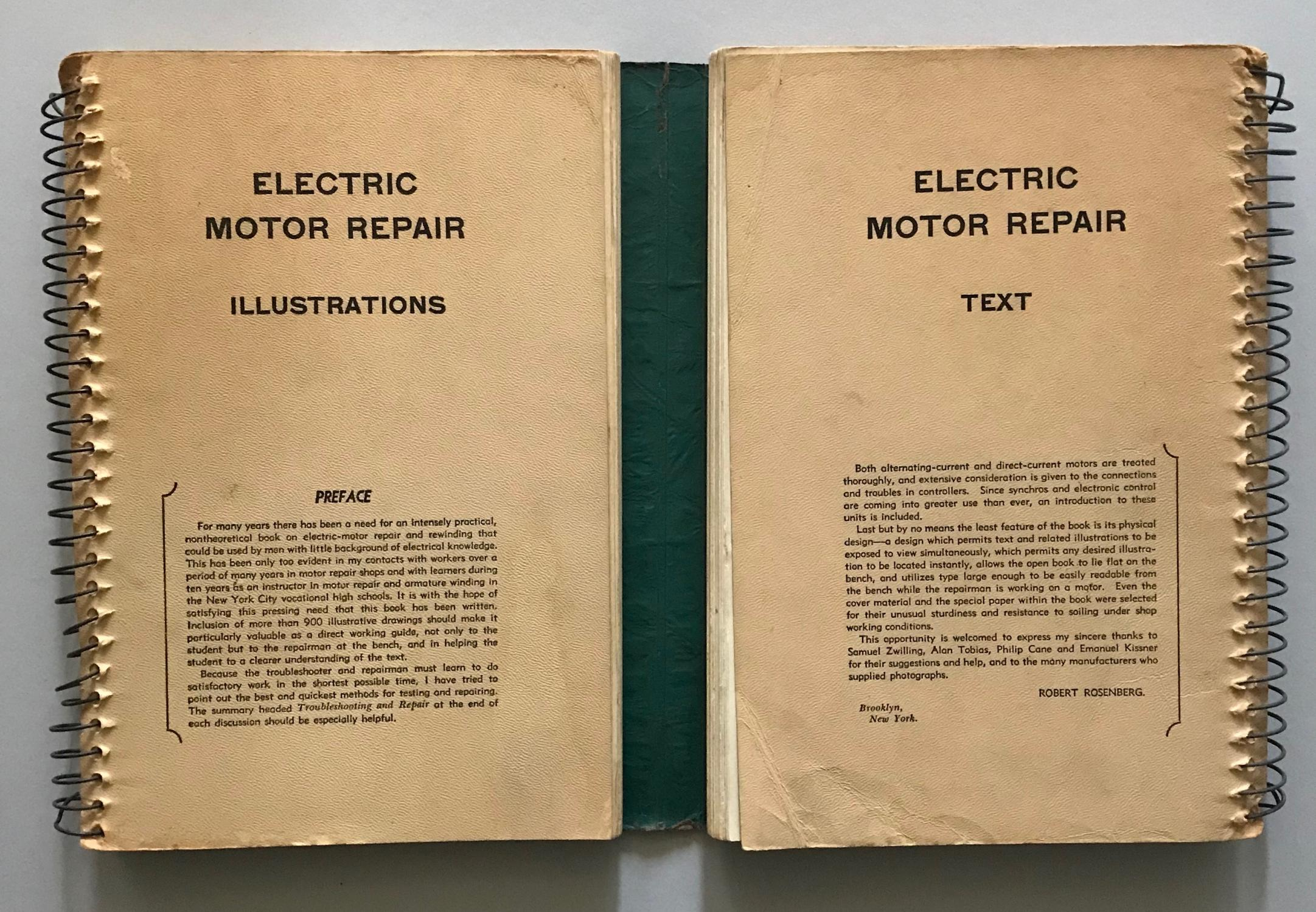 Electric Motor Repair A Practical Book On The Winding And Troubleshootingof C