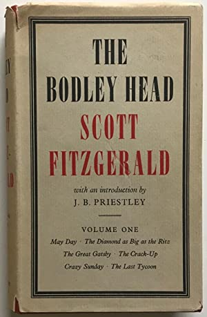 The Bodley Head Scott Fitzgerald, Volume I: Scott Fitzgerald (introduction