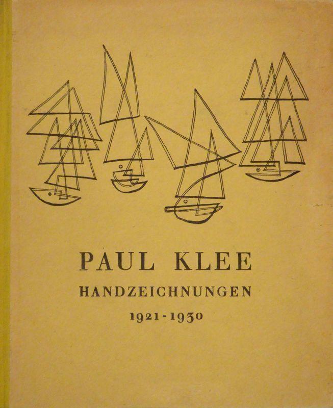 Paul Klee. Handzeichnungen II 1921 - 1930.: KLEE - GROHMANN,