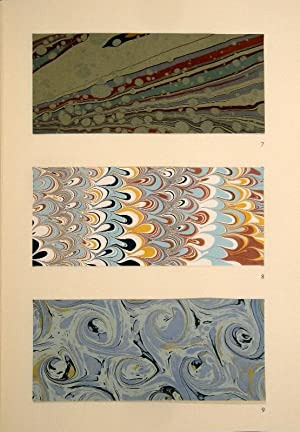 Marbling. Methods and Receipts From Four Centuries.: McKAY, Barry (Ed.).