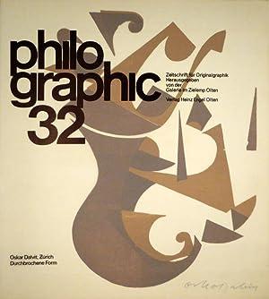 philographic. Zeitschrift für Originalgraphik. 5. Jahrg., Nr. 32. Oskar Dalvit, Zürich. ...