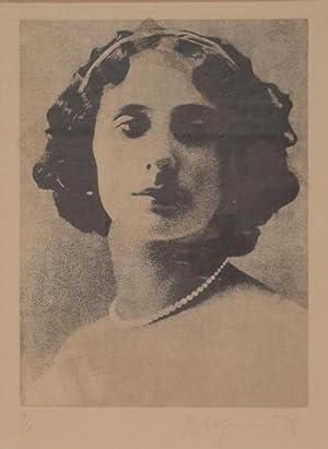 Anna Pawlowna Pawlowa (1881-1931). Radierung. 1978. Unten: PFUND, ROGER (*