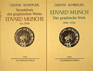 Verzeichnis des graphischen Werks bis 1906 / Das graphische Werk 1906-1926. 2 Bände.: ...