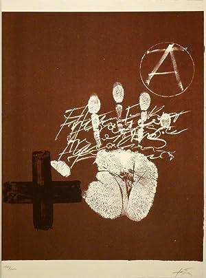 Erker-Treffen 2. - 8 signierte (5 farbige) Original-Lithographien von Anna-Eva Bergmann, Piero ...