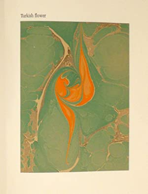 Marbled Papers. Marbled papers by Susanne Kneisl, bookbinding by Margrit Boppart.: KNEISL, Susanne ...