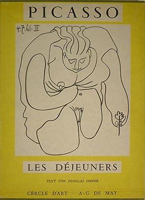 Pablo Picasso. Les Déjeuners. Text von Douglas Cooper.: PICASSO - COOPER, Douglas.