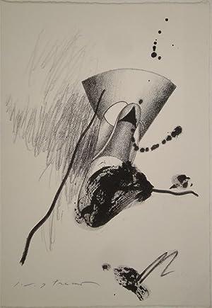 Ohne Titel. Lithographie. 1967. Unten links in: MASUO IKEDA (Mukden,