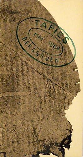 Antonio Tàpies. Papiers & Cartons.: COLLECTION BERGGRUEN - TAPIES -