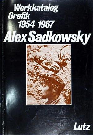 Alex Sadkowsky. Werkkatalog Grafik 1954-1967.: SADKOWSKY - (LUTZ, Hans-Rudolf).
