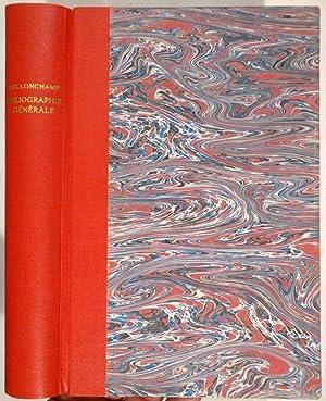 Bibliographie Générale des ouvrages publiés ou illustrés: LONCHAMP, F. C.