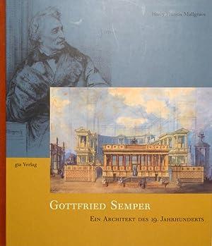 Gottfried Semper. Ein Architekt des 19. Jahrhunderts. Übers. von Joseph Imorde und Michael Gnehm.: ...