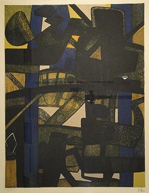 Maraboulda. Lithographie in fünf Farben. 1972. Unten rechts in Bleistift signiert, links auf ...