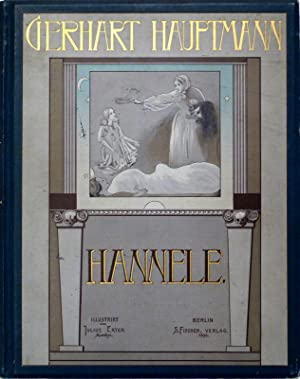 Hannele. Traumdichtung in zwei Teilen. Illustriert von Julius Exter.: EXTER - HAUPTMANN, Gerhart.