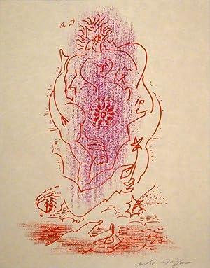 Maria tu sais. Trente-cinq poèmes d'amour. Lithographies André Masson.: MASSON -...