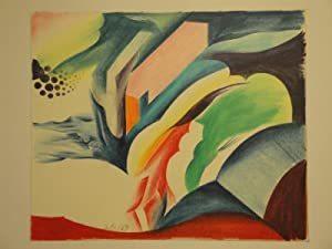 "Ohne Titel. Farbstift u. Aquarell. 1969. Unten Mitte links in Bleistift signiert u. datiert: ""..."