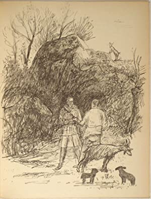 Les Bucoliques. Illustrations (lithographies) de Ernst Morgenthaler.: MORGENTHALER - VIRGILE.