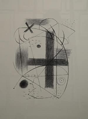 Lithographie II. 1930 (Druck 1973).: JOAN MIRÓ (Barcelona 1893 -1983 Mallorca)