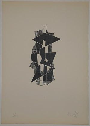 quatre piraine. Dix gravures originales sur linos: SILVANO BOZZOLINI (Fiesole