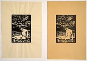 """Illustrationen zu Hans Reinhart """"Der Tag"""".: KARL HOFER (Karlsruhe 1878-1955 Berlin)."""
