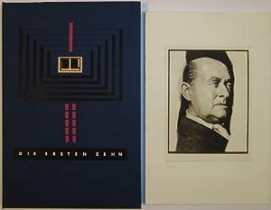 Die ersten Zehn. Mit zehn Originalradierungen von Jan Peter Tripp und einem Essay zu den ...