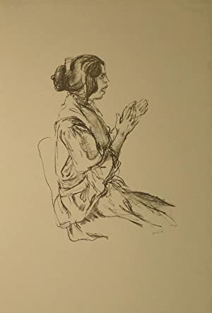 Studien aus Spanien. Zehn Original Lithographien.: ORLIK, Emil (Prag 1870 - 1932 Berlin).