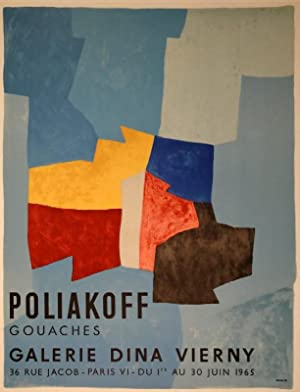 Komposition in Blau, Gelb und Rot / Composition bleue, jaune et rouge / Composition in blue, yell...
