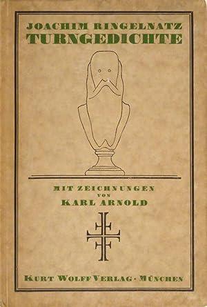 Turngedichte. Mit 17 Zeichnungen von Karl Arnold. 1.-5. Tsd.: ARNOLD - RINGELNATZ, Joachim.