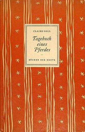 Tagebuch eines Pferdes. Mit vier Zeichnungen von Marc Chagall.: GOLL, Claire.