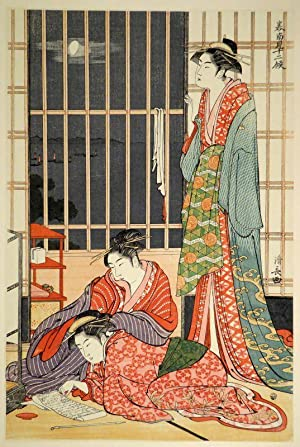 Kiyonaga. A Study of His Life and Works with a Portfolio of Plates in Color and Collotype. 2 vols.:...