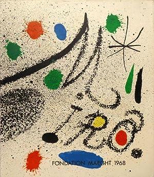 Miró. Introduction de Jacques Dupin. (Catalogue).: MIRO - DUPIN, Jacques.