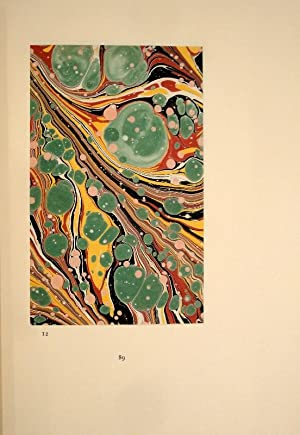 Patterns and Pigments in English Marbled Papers. An Account of the Origins, Sources and Documentary...