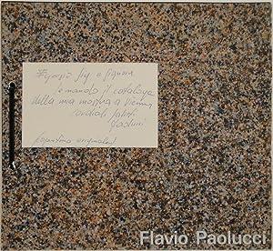 AUSSTELLUNG FLAVIO PAOLUCCI.: PAOLUCCI -