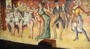 Le final. Öl auf Leinwand. Um 1910. Unten rechts in Pinsel in Rot signiert: Ludovic Rodo.: ...