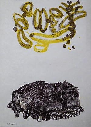 Gedichte. Auswahl und Lithographien von Robert Wehrlin.: ARCADE PRESSE - H�LDERLIN.