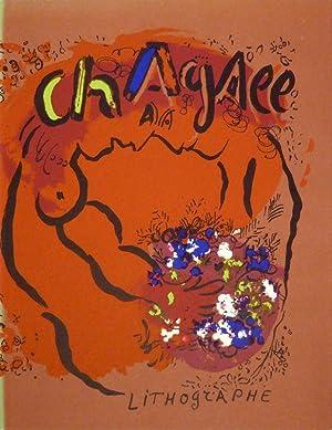 Chagall Lithograph. Vorwort von Marc Chagall. Bde.: CAIN, Julien /