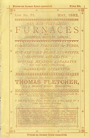 Gas and petroleum furnaces for crucibles, muffles, ladles