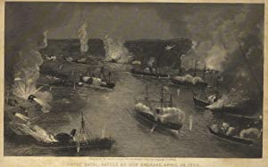 Great naval battle at New Orleans, April 24, 1862