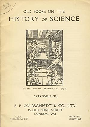 Old books on the history of science [cover title]