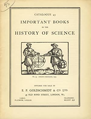 Important books in the history of science
