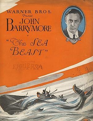 "Warner Bros. present John Barrymore in ""The Sea Beast"" [cover title]: Film, Souvenir ..."